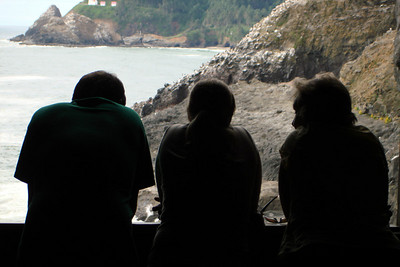 Looking out to sea - Oregon ... July 2, 2007 ... Photo by Rob Page Jr.