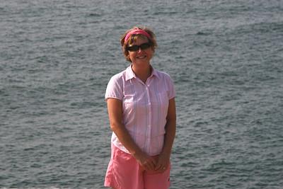 Mom enjoying the coast - Oregon ... July 2, 2007 ... Photo by Rob Page Jr.