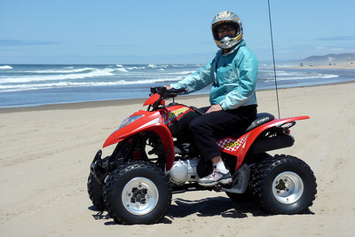 Out on the sands of the Oregon Coast - Sand Dunes, OR ... July 2, 2007 ... Photo by Rob Page, Jr.