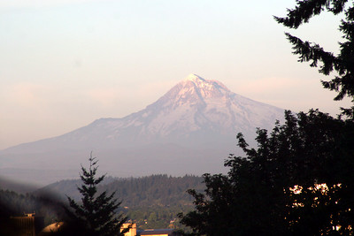 Mt. Hood - Portland, OR ... July 3, 2007 ... Photo by Rob Page Jr.