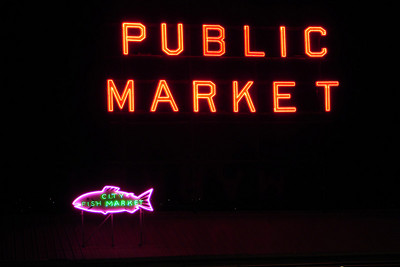 The Seattle Public Market - Seattle, WA ... June 26, 2007 ... Photo by Rob Page III