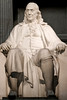 Franklin Institute Science Museum. Philadelphia, Penn. Benjamin Franklin Statue.