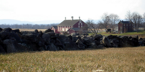 The Gettysburg farmhouse - Gettysburg, PA ... January 21, 2006 ... Photo by Rob Page III