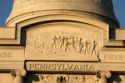 Pennsylvania Memorial - Gettysburg, PA ... August 16, 2008 ... Photo by Rob Page III