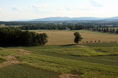 Looking out over Eisenhower's Farm - Gettysburg, PA ... August 16, 2008 ... Photo by Rob Page III