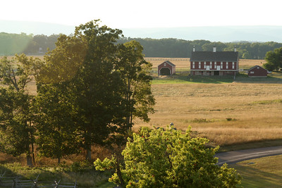 The current countryside - Gettysburg, PA ... August 16, 2008 ... Photo by Rob Page III