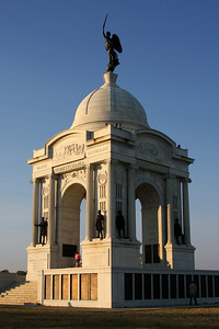 The Pennsylvania Memorial - Gettysburg, PA ... August 16, 2008 ... Photo by Rob Page III