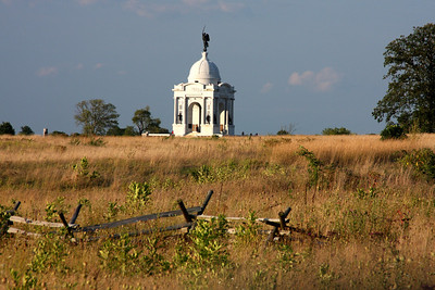 The Pennsylvania Memorial - Gettysburg, PA ... August 16, 2008 ... Photo by Rob Page Jr.