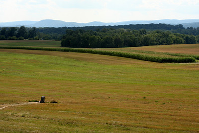 A lonely monument on Oak Hill - Gettysburg, PA ... August 18, 2008 ... Photo by Rob Page III
