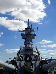 USS New Jersey - Camden, New Jersey ... September 3, 2005 ... Photo by Rob Page III