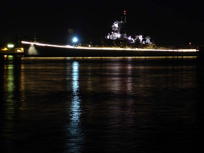 The USS New Jersey. - Philadelphia, PA ... September 3, 2005 ... Photo by Rob Page III
