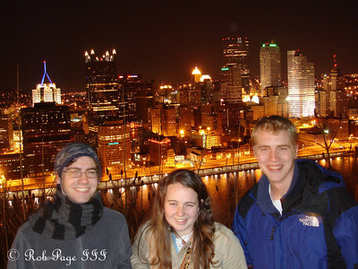 Dermot, Chelsea, and Rob - Pittsburgh, PA ... January 21, 2006 ... Photo by Rob Page III