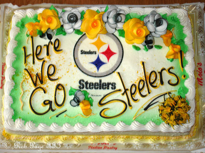 Here we go Steelers - Pittsburgh, PA ... January 22, 2006 ... Photo by Rob Page III