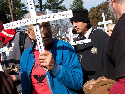SOA Watch Vigil / Protest, GA 2008 (Panetta)