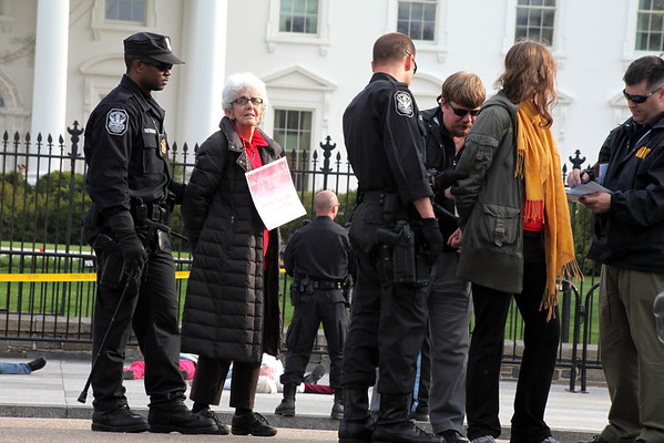 SOA Watch Vigil / Protest Washington, DC April 10, 2011
