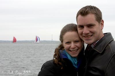 Rob and Emily enjoying the day - Charleston, SC ... February 28, 2015