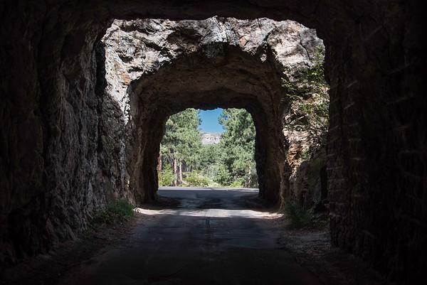 Iron Mountain Highway View Of Rushmore