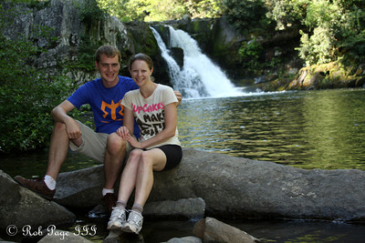 Rob and Emily at Abrams Falls near Cades Cove - Great Smoky Mountain NP, TN ... August 2, 2011 ... Photo by Rob Page III