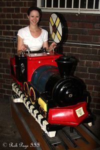 Emily enjoys the Chattanooga Choo-Choo - Chattanooga, TN ... August 3, 2011 ... Photo by Rob Page III