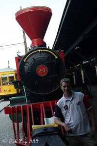 Rob in front of the Chattanooga Choo-Choo - Chattanooga, TN ... August 3, 2011 ... Photo by Emily Page