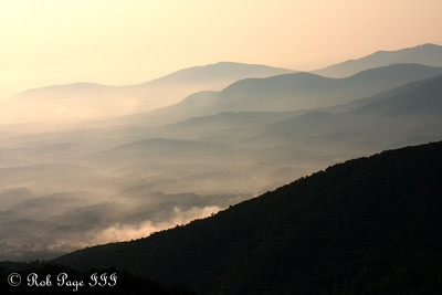 Blue Ridge Parkway - Bedford, VA ... August 1, 2011 ... Photo by Rob Page III
