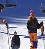 Nervous Skier, Ski Basin, Taos, NM