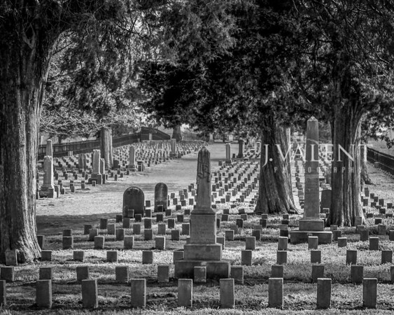 Confederate Cemetary at Carnton Plantation - Site of the Battle of Franklin, 30 NOV 1864