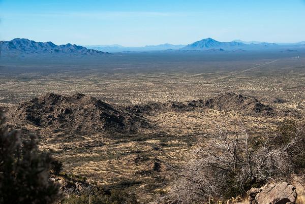 Southern Arizona from Kitt Peak