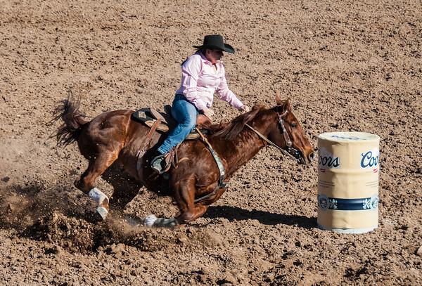 Rounding The Barrel