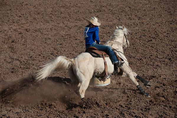 Ladies' Barrel Racing, Tucson Rodeo