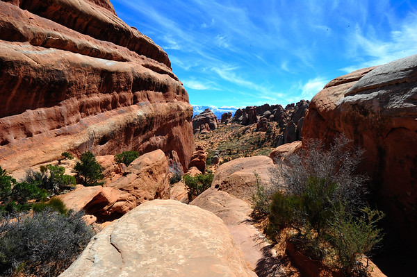 Awesome View from Top of Arches