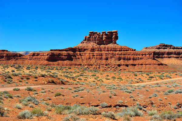 Landscape in Valley of the Gods