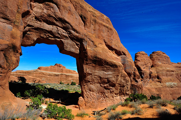 Pinetree Arch and background
