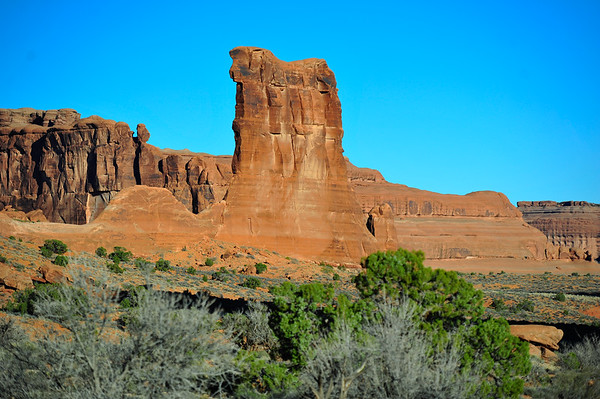 Monument in Arches Park