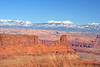 Colorado River with LasAl Mountains