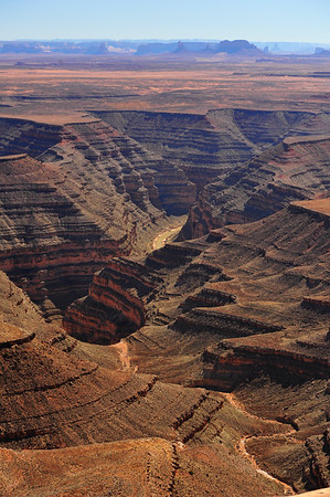 Vertical Erosion of Canyon