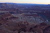 Dead horse Point view at sunset
