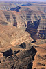 Colorado river and erosion of valley