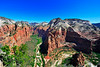 Panorama of Zion Park