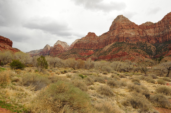 Just before Zion Park
