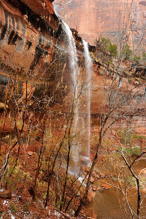 Vertical Emerald Falls