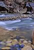 Blue Rocks in River bed