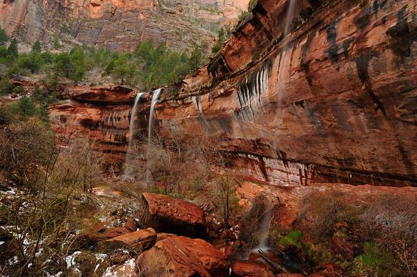 Emerald Water Falls