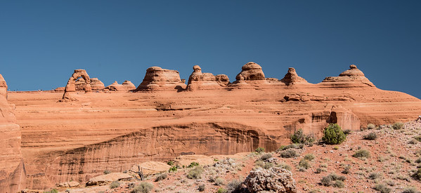 Delicate Arch & Admirers, Arches National Park, Utah