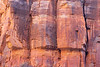 Zion, Angel's Landing - Patterns in the wall on side of summit