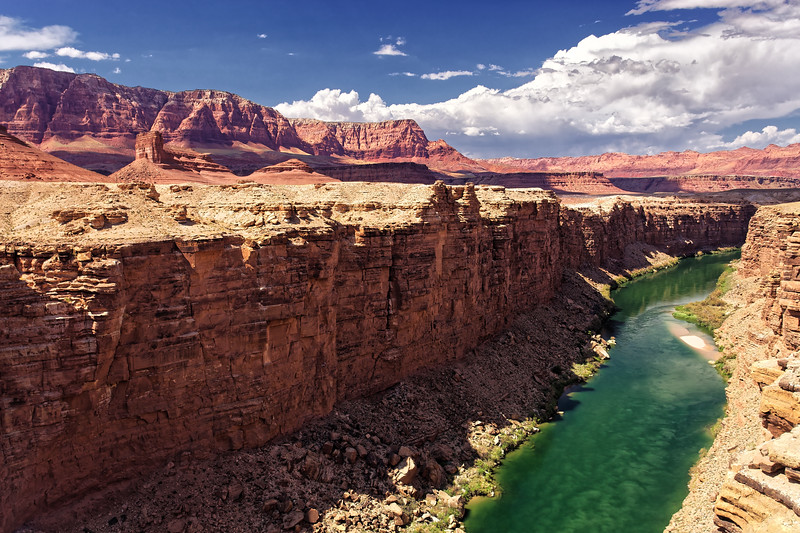 Colorado River at Marble Canyon, East Grand Canyon