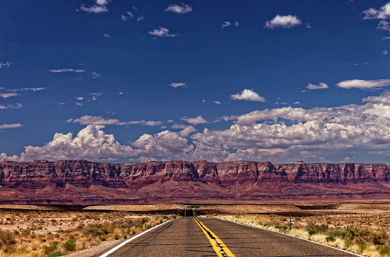 The Road to Vermillion Cliffs, Arizona