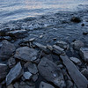 Rocky shores of Lake Champlain