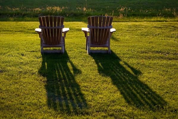 Long shadows of summer.