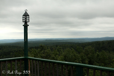 Looking out at the expansive wilderness - Brattleboro, VT ... August 8, 2009 ... Photo by Rob Page III